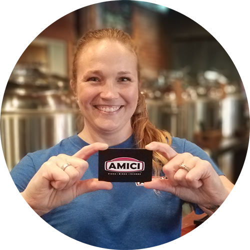 Amici Pizza Brewery Gift Cards Catering